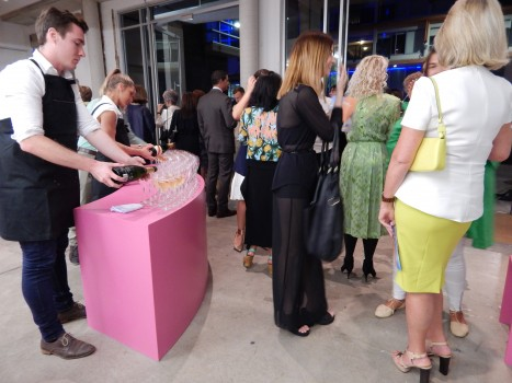 Champagne Drinks in the IMA Foyer October 2014