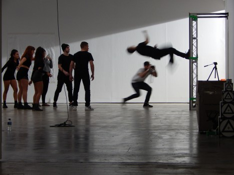 The Brisbane Festival Promo photo shoot and filming in the galleries May 2015