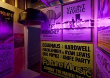 Club Purple (detail) (2014). Image courtesy of the artist and Milani Gallery, Brisbane. Photo: Andrew Curtis.