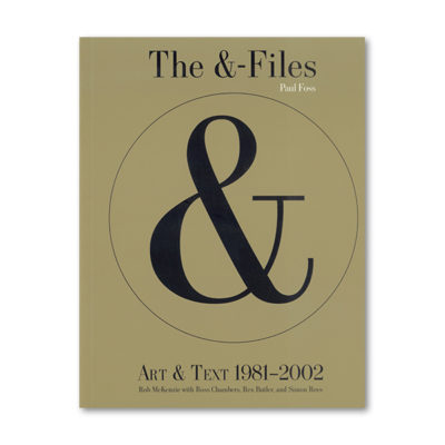 The & Files cover