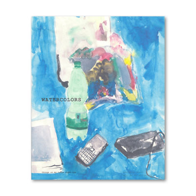 Watercolours Cover